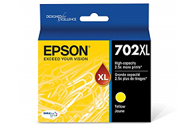 Epson T702XL Series T702XL yellow ink cartridge
