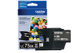 Brother MFC-J625W black LC75 ink cartridge