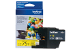 Brother MFC-J625W yellow LC75 ink cartridge