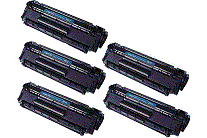 HP 12A 5pk (high capacity) cartridge