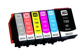Epson XP-15000 T312XL/T314XL 6-pack 1 black 312xl, 1 cyan 312xl, 1 magenta 312xl, 1 yellow 312xl, 1 gray 314xl, 1 red 314xl