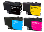 Brother MFC-J5945DW XL LC-3037 4 pack 1 LC-3037 black, 1 LC-3037 cyan, 1 LC-3037 magenta, 1 LC-3037 yellow