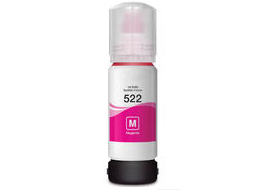 Epson Expression ET-2720 EcoTank 522 magenta Dye Ink Bottle