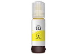 Epson Expression ET-2720 EcoTank 522 yellow Dye Ink Bottle