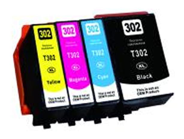 Epson XP-6000 T302xl 4-pack 1 black 302xl, 1 cyan 302xl, 1 magenta 302xl, 1 yellow 302xl