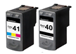Canon Pixma MP210 2-pack 1 black 40, 1 color 41