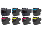 Brother MFC-J5730DW 8-pack 2 black LC3017, 2 cyan LC3017, 2 magenta LC3017, 2 yellow LC3017